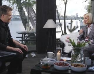 """Video: Samanta Tīna studijā uzzina par startu """"Eirovīzijā 2021"""""""