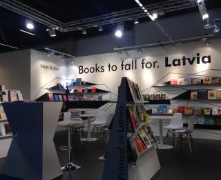Latvija šonedēļ piedalās Frankfurtes grāmatu tirgū