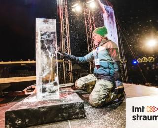 Video: Starptautiskā Ledus skulptūru festivāla paraugdemonstrējumi