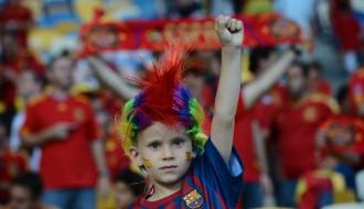 "Foto: Spānija triumfē ""Euro 2012"""