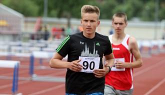 Foto: Latvijas čempionāts vieglatlētikā (U-18) Ogrē, 1.diena