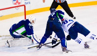 Video: KHL septītās nedēļas labākie atvairījumi