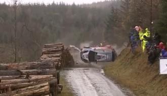 Video: Noivilam kūlenis, avarē arī Latvala