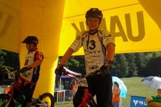 Arvis Dermaks izcīna pasaules junioru čempiona titulu velotriālā