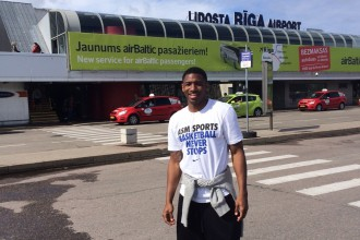 """VEF jaunieguvums Robinsons: """"Plānā ir Latvijas čempionu tituls"""""""