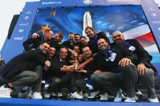 Eiropa trešo reizi pēc kārtas uzvar Raidera kausā