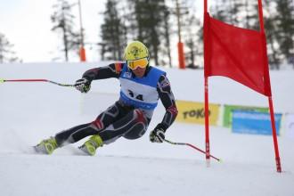 Arī otrajā dienā EK  milzu slalomā K.Zvejnieks aiz sešdesmitnieka