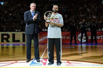 Pārkers otro gadu pēc kārtas atzīts par Eiropas labāko basketbolistu