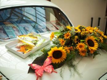 Foto: 5 lieliskas idejas kāzu retro auto dekorēšanai