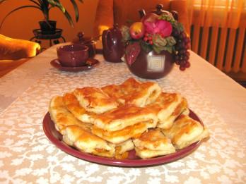Kārtainie pīrāgi ar ievārījumu