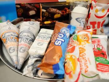 Food Union 2013.gada vasaras sezonai pilnveidojis četrus vadošos saldējuma zīmolus un radījis jaunu saldējumu bērniem