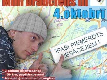 """4.oktobrī notiks autofotoorientēšanās minibrauciens """"Jūrmala 2014"""""""