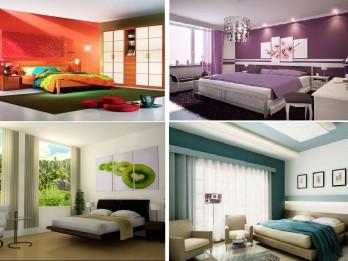 Kā pareizi izvēlēties krāsas guļamistabas interjerā