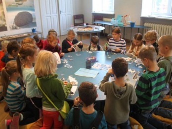Dabas muzeja ģimenes dienā: Vai pazīsti jūru?