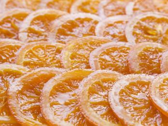 Karamelizēti apelsīni