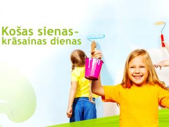 Latvijas daudzbērnu ģimenēm iespēja iegūt jaunu bērnistabas interjeru bez maksas
