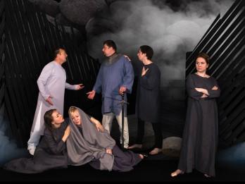 """Daugavpils teātra veltījums Latgales kongresa simtgadei – izrāde """"Nūgrymušõ pile"""""""