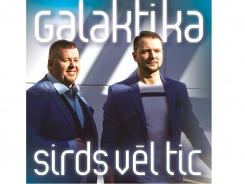 """Izdots jauns grupas """"Galaktika"""" dziesmu albums """"Sirds vēl tic"""""""