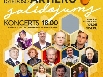 Latvijas labākie dziedošie aktieri augustā tiksies Ikšķilē