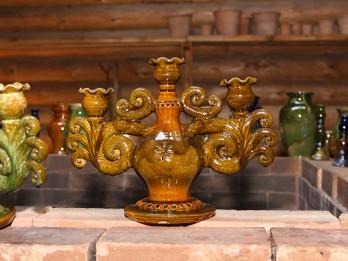 Keramikas cepļa kurināšana Jasmuižā