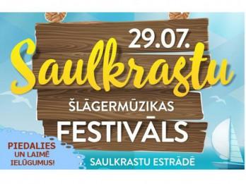 Zināma laimīgā Saulkrastu Šlāgermūzikas festivāla biļešu ieguvēja