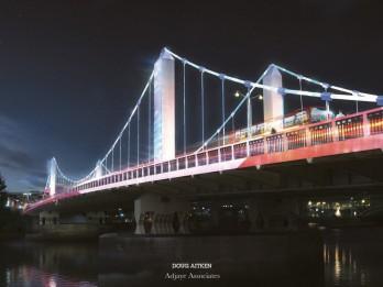 Rīgā varēs iepazīties ar sešiem labākajiem projektiem Londonas tiltu izgaismošanai