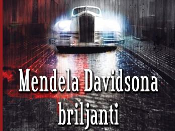 "Izdota Andra Kolberga romānu triloģija ""Mendela Davidsona briljanti"""