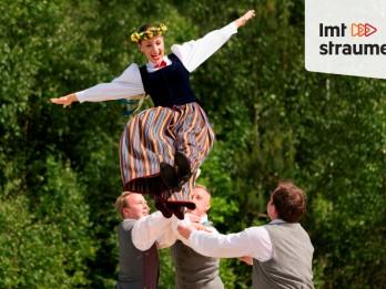 Dziesmu un deju svētku tiešraidēm varēs sekot līdzi arī viedtālrunī