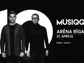 Musiqq izziņo lielkoncertu Arēnā Rīga un desmitgades albumu