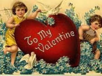 Foto: 30 senās Valentīndienas apsveikuma kartiņas