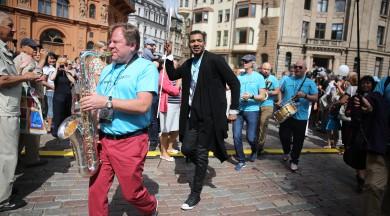"""Vasarā Rīgā atkal notiks starptautiskais džeza festivāls """"World Jazz Festival"""""""