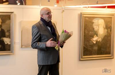 Latgales vēstniecībā GORS atklāta Roberta Muža personālizstāde