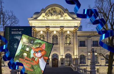 Konkurss noslēdzies. Ielūgumus visai ģimenei LNMM galvenās ēkas apmeklējumam + grāmatu komplektu laimē...