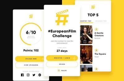 Sācies Eiropas kino skatītāju konkurss #europeanfilmchallenge