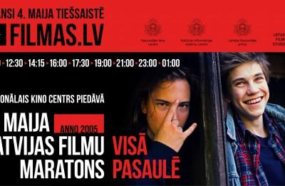 4. maija Latvijas filmu maratons šogad – visā pasaulē