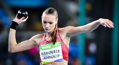 Ikauniece-Admidiņa atgriežas ar personīgo rekordu lodes grūšanā