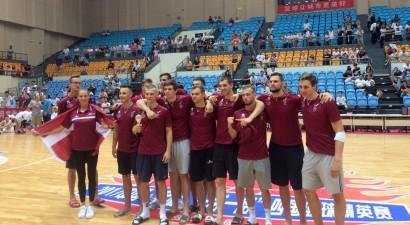 Latvijas studenti gatavošanos PU noslēdz ar uzvaru pār Melnkalni