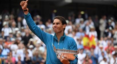 """Nadals arī šogad nav apturams Parīzē, izcīna 11. """"French Open"""" titulu"""