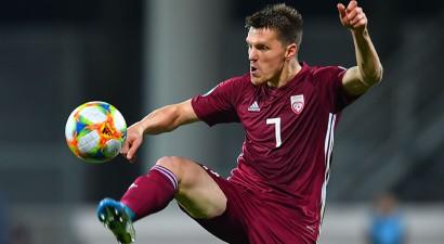 """Briesmīgo """"Euro 2020"""" kvalifikācijas turnīru Latvijas izlase noslēgs pret austriešiem"""