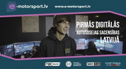 """Ralfs Sirmacis: """"Virtuālais autosports ir pieejams jebkuram jaunietim"""" (+video)"""