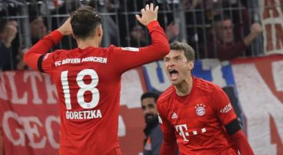 """""""Bayern"""" atkal graujoši uzvar, """"Leipzig"""" tikai punkta attālumā"""