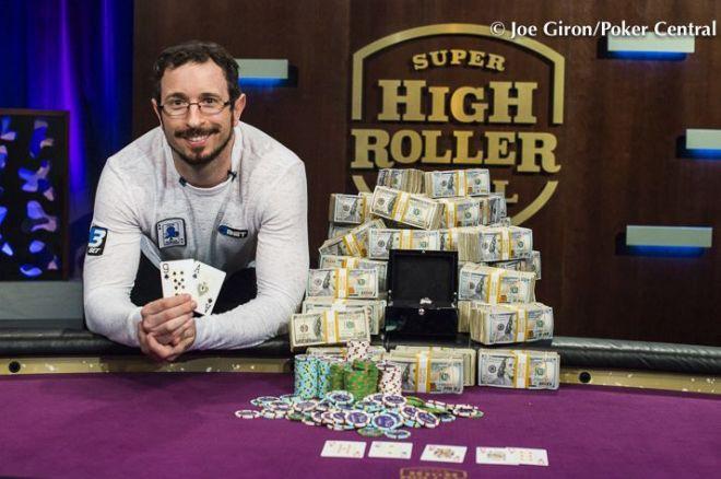 Super High Roller Bowl uzvarētājs saņem $7.5 miljonus