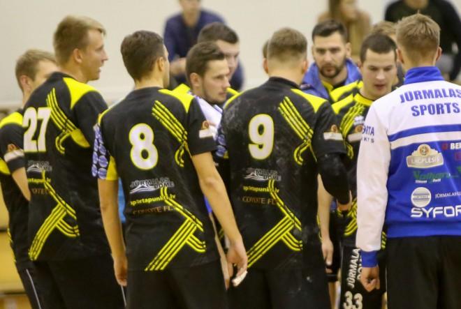 """""""Jūrmalas Sports"""" rezultatīvā cīņā uzvar ASK/LSPA, izcīnot pirmo uzvaru sezonā"""