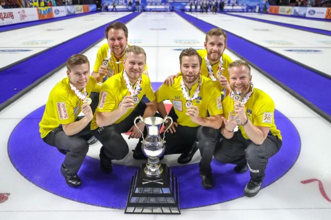 Trešo pasaules čempiona titulu izcīna Edina Zviedrijas izlase