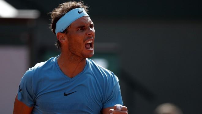"""Nadals 11. reizi spēlēs """"French Open"""" finālā"""