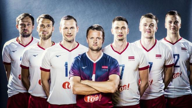 """Latvijas volejbolisti aicina uz """"Gadsimta cīņu"""" pret Igauniju"""