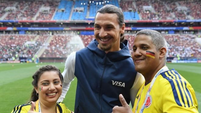 """Zlatans: """"Es pārņēmu pasauli, tagad to dara Zviedrijas izlase"""""""