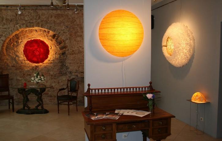 """Spilgtākie dizaineru darbi izstādē """"Baltic Furniture 2011"""""""