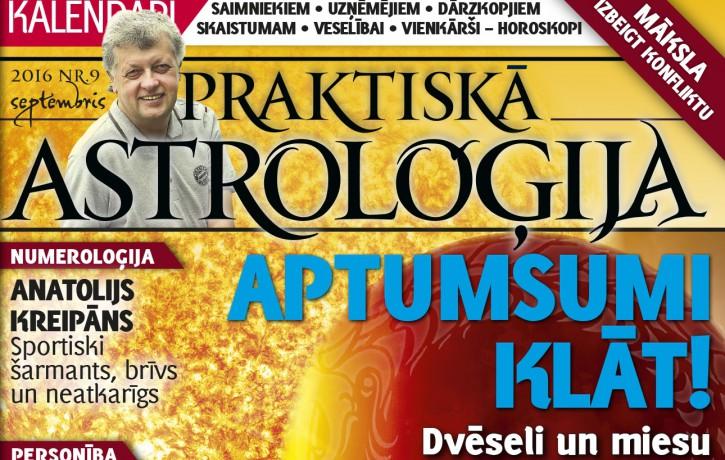 Praktiskā Astroloģija septembrī pārskata vasaras ražu