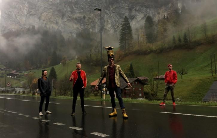 Grupa RYGA, atbalstot albuma izdošanu, devusies koncertēt Vācijā